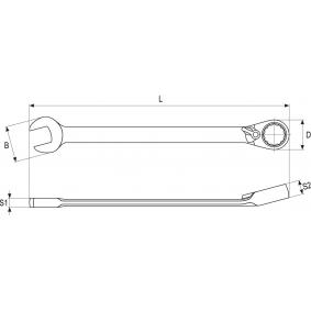 YATO Spärrblocknyckel YT-1652 nätshop