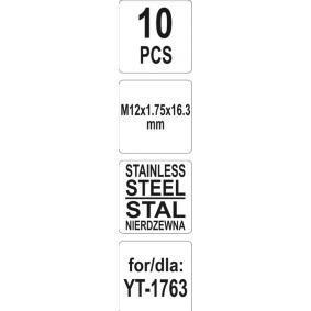 YT-1768 Assortiment, schroefdraadreparatie van YATO gereedschappen van kwaliteit