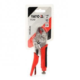 YT-2151 Vise-grip Pliers from YATO quality car tools