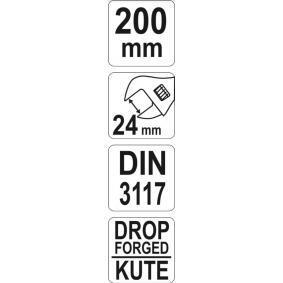 YATO Skiftnyckel YT-21651 nätshop