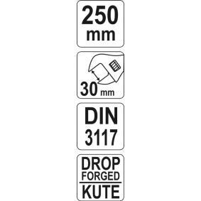 YATO Chave inglesa YT-21652 loja online