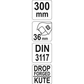 YATO Skiftnyckel YT-21653 nätshop