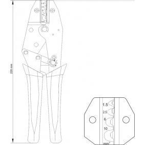 YT-2297 Pinza pelacables de YATO herramientas de calidad