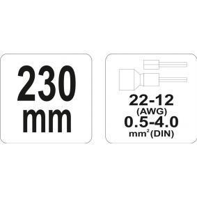 YATO Abisolierzange YT-2299 Online Shop