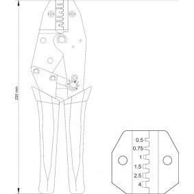 YT-2299 Pinza pelacables de YATO herramientas de calidad