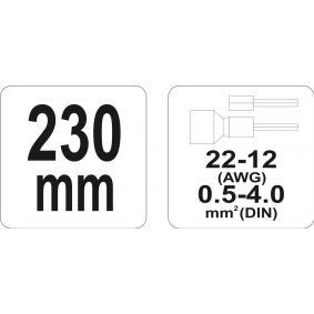 YATO Alicate descarnador YT-2299 loja online