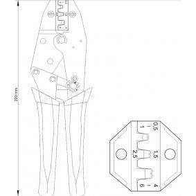 YT-2300 Pinza pelacables de YATO herramientas de calidad