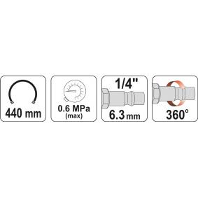 Auto Druckluftreifenprüfer / -füller YT-23701