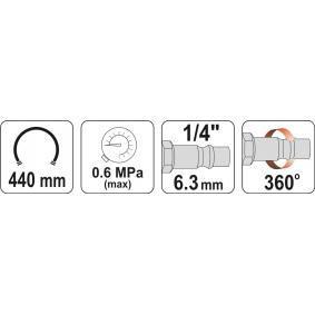 YT-23701 Urządzenie do pomiaru ciżnienia w kole i pompownia powietrza do pojazdów