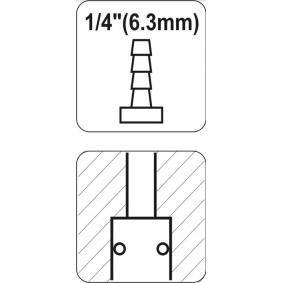 YATO Conector, tubo de ar comprimido YT-2396 loja online