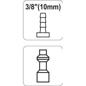 YATO Conector, tubo de ar comprimido YT-2406 loja online