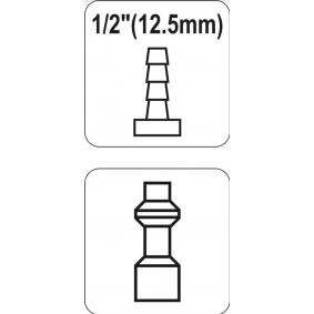 YATO Conector, tubo de ar comprimido YT-2407 loja online
