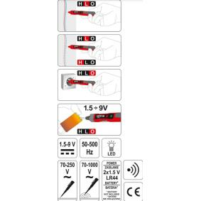 YATO Spannungsprüfer YT-28631 Online Shop