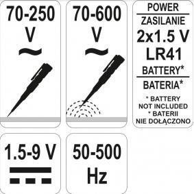 YATO Probador de tensión YT-2864 tienda online