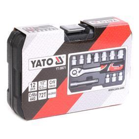 Steckschlüsselsatz YT-38671 YATO