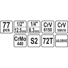 YATO Set scule YT-38781 magazin online