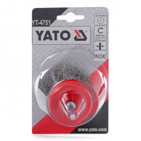 YT-4751 Wire Brush from YATO quality car tools