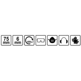 YATO Escova de arame (YT-4751) a baixo preço