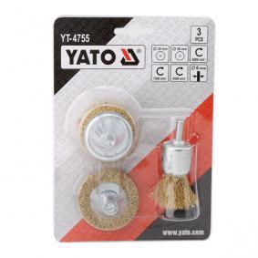 YT-4755 Zestaw szczotek czyszczących od YATO narzędzia wysokiej jakości