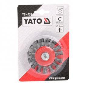 YT-4759 Wire Brush from YATO quality car tools