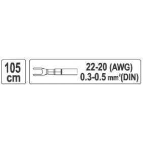 YT-4908 Klucz oczkowy / płaski od YATO narzędzia wysokiej jakości