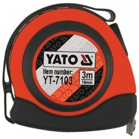 Rolmaat, meetband YT-7103 YATO