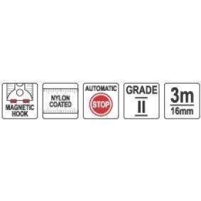 YATO Fita métrica YT-7103 loja online