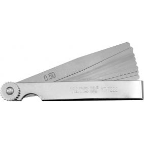 YT-7222 Feeler Gauge from YATO quality car tools