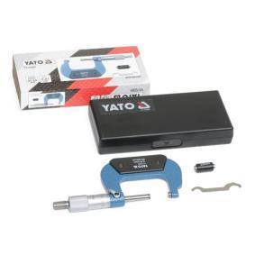 Trmenovy mikrometr YT-72301 YATO
