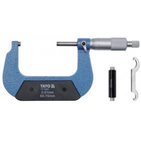 Trmenovy mikrometr YT-72302 YATO