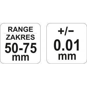 YT-72302 Mikrometr kabłąkowy od YATO narzędzia wysokiej jakości