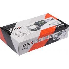 YT-72305 Trmenovy mikrometr od YATO kvalitní nářadí