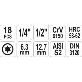 YATO Steckschlüsselsatz YT-7751 Online Shop