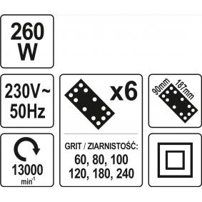 YT-82230 Winkelschleifer von YATO Qualitäts Werkzeuge