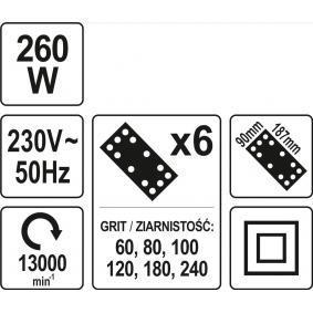 YT-82230 Haakse slijper van YATO gereedschappen van kwaliteit