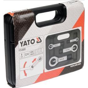 YT-0585 Zestaw ściągaczy do nakrętek od YATO narzędzia wysokiej jakości
