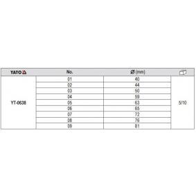 YATO Druckstücksatz, Ein- / Auspresswerkzeug (YT-0638) niedriger Preis