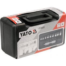 YATO Conjunto peças, ferramenta montagem / desmontagem à pressão YT-0638 loja online