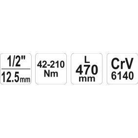 YATO Динамометричен ключ (YT-0760) на ниска цена