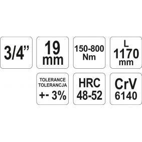 YATO Momentsleutel (YT-07711) aan lage prijs