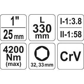 YT-0782 Draaimoment versterker van YATO gereedschappen van kwaliteit