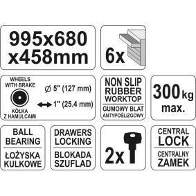 YATO Carro de herramientas YT-0913 tienda online