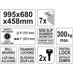 YATO Werkzeugwagen YT-0914 Online Shop