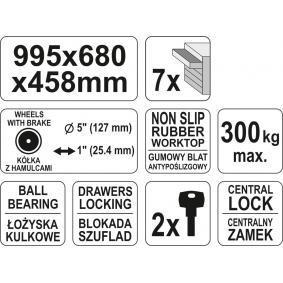 YATO Carro de herramientas YT-0914 tienda online