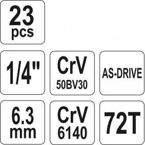 YATO Steckschlüsselsatz YT-14421 Online Shop