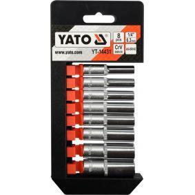 YT-14431 Zestaw kluczy nasadowych od YATO narzędzia wysokiej jakości