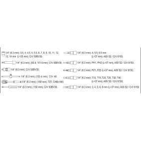 Steckschlüsselsatz von hersteller YATO YT-14471 online