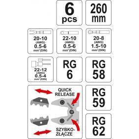 YT-2245 Crimpzangen-Set von YATO Qualitäts Werkzeuge