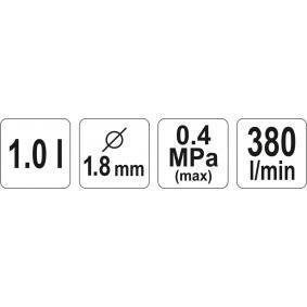 YATO Sprühpistole, Unterbodenschutz YT-2346 Online Shop