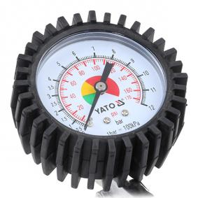 YATO Urządzenie do pomiaru ciżnienia w kole i pompownia powietrza YT-2370